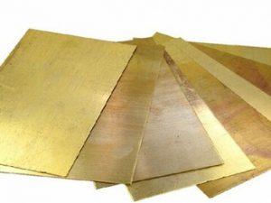 Плита бронзовая 30х190х1210 ОЦСС555